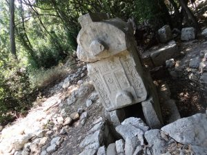 Olympos ruins near Cirali Beach, Turkey