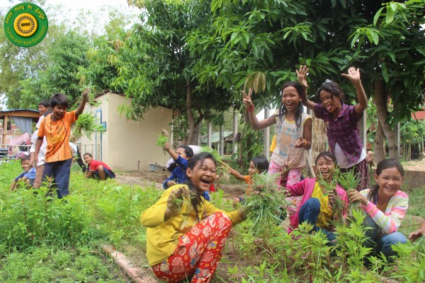 Giving Back To Cambodia