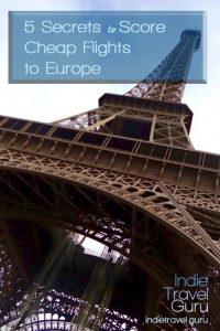 Cheap Flights Europe